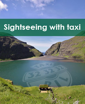 Sightseeing with taxi